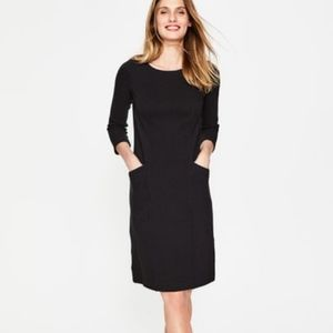 Boden textured Trinity sheath dress with pockets
